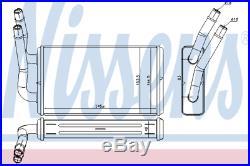 Heater Matrix Core LHD 71778 NISSENS NEW Radiator