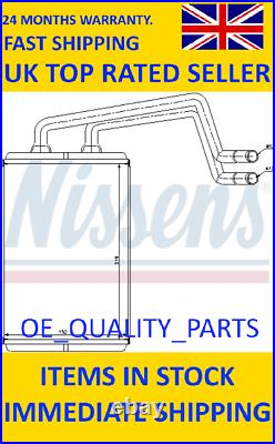 Heater Matrix Core Radiator 77612 NISSENS for LHD Hyundai