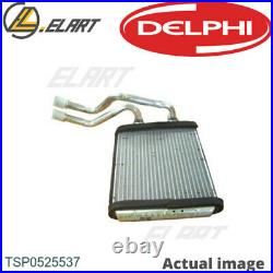 Heater Radiator Exhanger Unit For Audi Porsche Q7 4l Cjgd Crca Clzb Bar Delphi