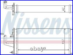 Heater Radiator Exhanger Unit For Iveco Daily II Platform Chassis Nissens
