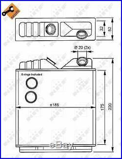 Interior Heater Matrix Heat Exchanger OpelASTRA F, CALIBRA A 52463008 1618004