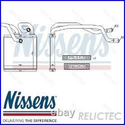 Interior Heater Matrix Heat Exchanger for NissanQASHQAI +2 I 1, X-TRAIL