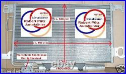Klimakondensator Kondensator & Trockner NR, Mercedes, C Klasse S203, T Modell