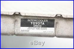 Ladeluftkühler Toyota AVENSIS 2 Kombi T25 JD1271002220 DENSO 179400R010 2.2
