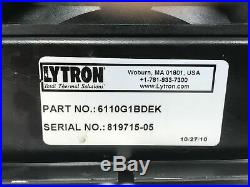 Lytron Copper Tube-Fin Heat Exchanger with 24V DC Fan 430W Water-Air Chiller