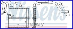 NISSENS 72219 Interior Heater Matrix