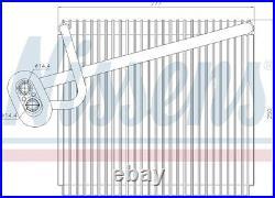 NISSENS Air-con Evaporator 92289