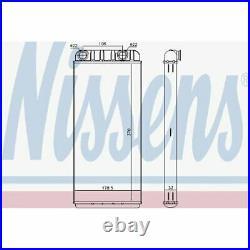 NISSENS Heat Exchanger, interior heating 72045