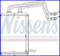 NISSENS Heater Matrix LHD ONLY 77612