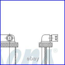 NISSENS Heater Radiator Matrix 72671 FOR Astra J Zafira Tourer C Cascada Sports