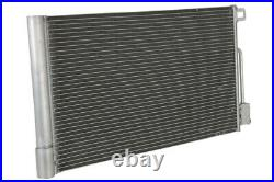 NISSENS NIS 94973 Condenser, air conditioning OE REPLACEMENT XX844 74E59A