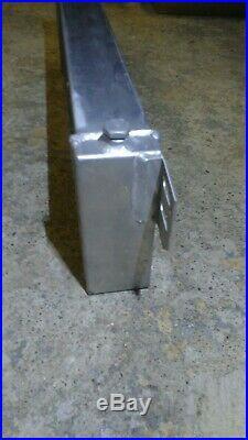 NOS Air to Water Intercooler Aluminum Liquid Heat Exchanger universal