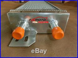 New Air to Water Intercooler All Aluminum Liquid Heat Exchanger universal