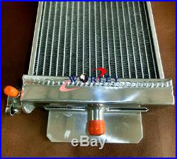 New Heat Exchanger Air to Water Intercooler& FANS For Cobalt Mustang 24x8x2.5