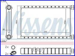 Nissens 70527 Interior Heater Matrix Next working day to UK