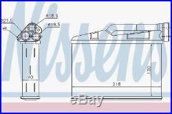 Nissens 70530 Heat Exchanger Interior Heating