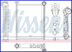 Nissens 71162 Interior Heater Matrix Next working day to UK