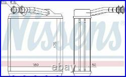 Nissens 73464 Heat Exchanger Interior Heating