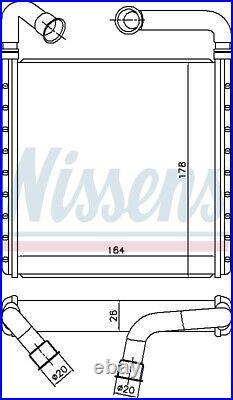 Nissens 73943 Interior Heater Matrix Next working day to UK