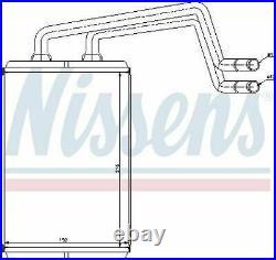 # Nissens 77612 Heat Exchanger Interior Heating