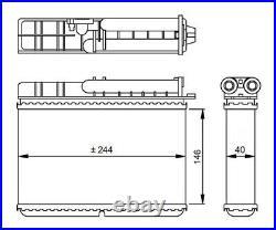 Nrf Wärmetauscher Innenraumheizung 54307 P Neu Oe Qualität