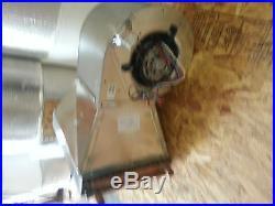Outdoor Wood Furnace Boiler HEAT EXCHANGER WithBlower/AIR HANDLER/HANGING HEATER
