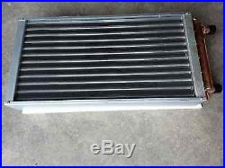 Outdoor Wood Furnace Boiler Water to Air Heat Exchanger 14X14 american royal