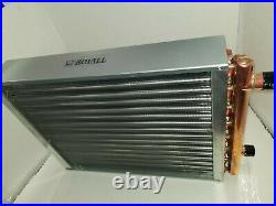 Outdoor Wood Furnace Boiler Water to Air Heat Exchanger 16x18 american royal