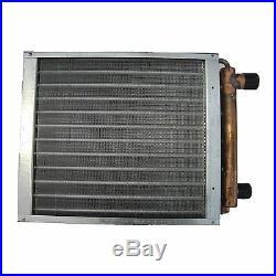 Outdoor Wood Furnace Boiler Water to Air Heat Exchanger 36X36 american royal