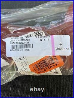 Porsche Genuine Heater Air Hose For Heat Exchangers 99357278601 993 572 786 01