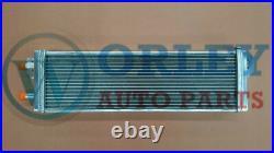 Universal Air to Water Intercooler Aluminum Liquid Heat Exchanger universal Fan