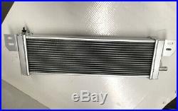 Universal Air to Water Intercooler Aluminum Radiator Liquid Heat Exchanger