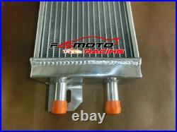 Universal Air to water aluminum intercooler liquid heat exchanger+FAN