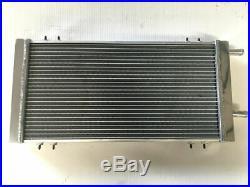 Universal Aluminum Air-Water Intercooler Air to Liquid Heat Exchanger Radiator