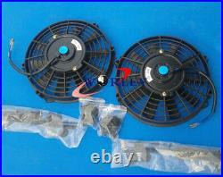 Universal Aluminum Air to Water Intercooler Liquid Heat Exchanger & FANS