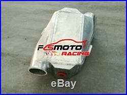 Universal Aluminum Air to Water Intercooler Liquid Heat Exchanger Turbo & FANS