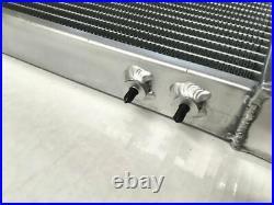 Universal Aluminum Air to Water Intercooler Radiator Air-Liquid Heat Exchanger