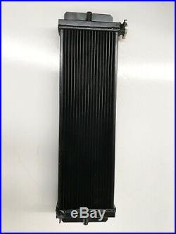 Universal Aluminum Cooling Radiator Heat Exchanger Air Water Intercooler Black