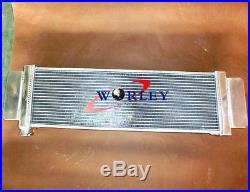 Universal Aluminum Heat Exchanger Air to Water Intercooler 24 x 8 x 2.5