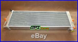 Universal Aluminum Heat Exchanger Air to Water Intercooler 24x8x2.5