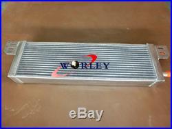 Universal Aluminum Heat Exchanger Air to Water Intercooler Radiator FANS