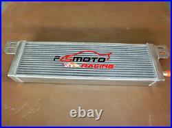 Universal Aluminum Heat Exchanger Air to Water Intercooler Radiator with fans