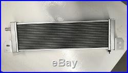 Universal Aluminum Radiator Air-Water Intercooler Heat Exchanger 702mmX186mm
