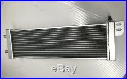 Universal Aluminum Radiator Heat Exchanger Air to Water Intercooler silver
