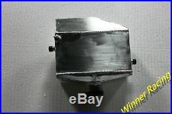 Universal air to Water Aluminum Intercooler liquid heat exchanger & Water tank