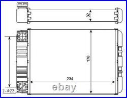 Wärmetauscher, Innenraumheizung NRF 54274