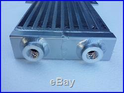 Water to Air Intercooler Radiator Heat Exchanger Dual Pass Turbo D